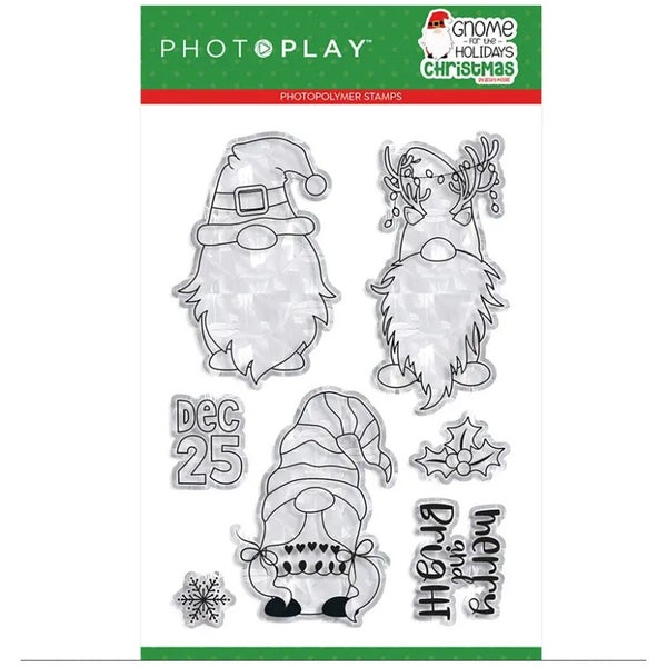 Gnome for Christmas Stamp Set by Photo Play