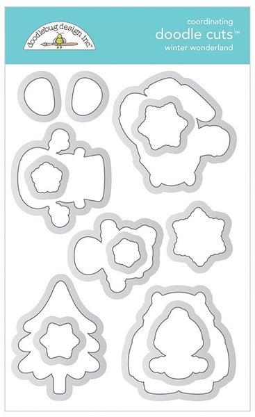 Doodlebug Design- Winter Wonderland Die Cuts