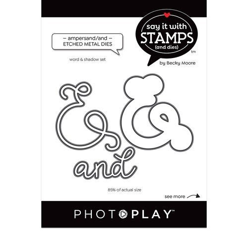 Ampersand/and Word die cuts