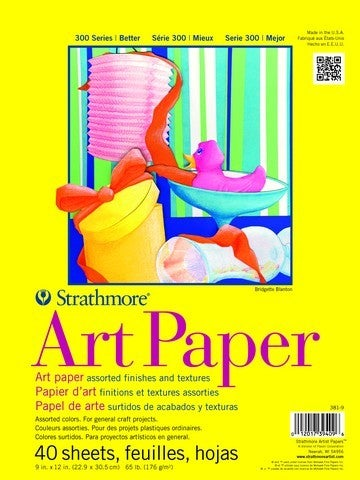 Strathmore Colored Art Paper - 9-inch x 12-inch