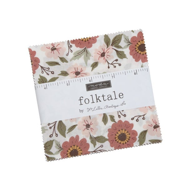 Folktale 5inch square Charm Pack 42 count by MODA Fabrics