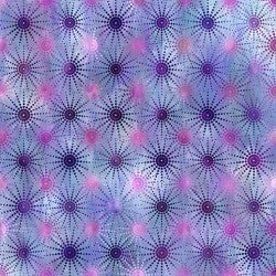 1 Yard Cut - Unicorns Dot Burst Purple - Jason Yenter - In the Beginning Fabrics