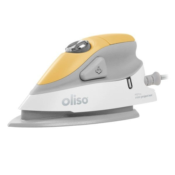 Oliso M2 Pro Mini Project Iron with Solemate, Yellow