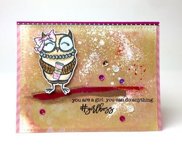 Picket Fence Studios- BFF Owl Stamp Set