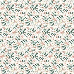 1 Yard Cut - Goose Creek Marshlands in White - Poppie Cotton