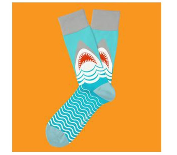 Two Left Feet- The Great White Sock (Choose from Two Size)