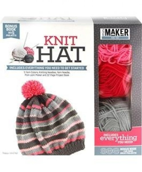 Mini Maker Knit Hat Kit