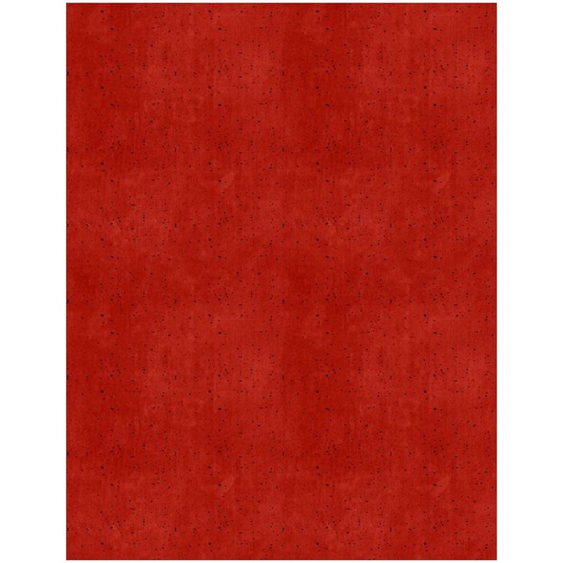 1 yard cut Fabric, Hot Cocoa Bar Camping Cup Texture  Red