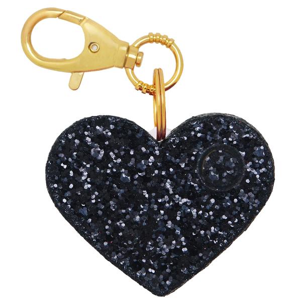 Glitter Heart Personal Alarm
