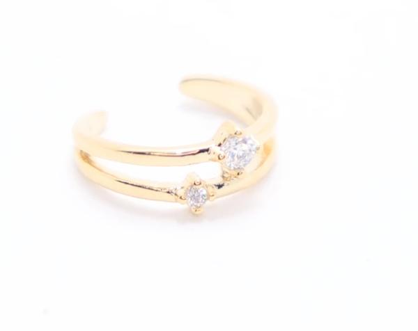 Cuff Sweetie - Double Diamond
