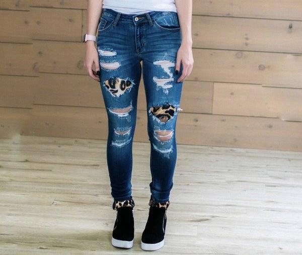 Cheetah Kan Can Jeans