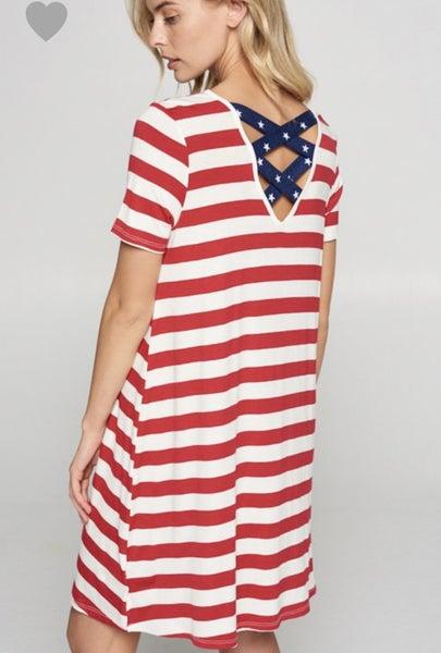 4th of July Swing Dress