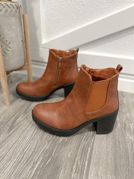 The Myrissa Heel Booties