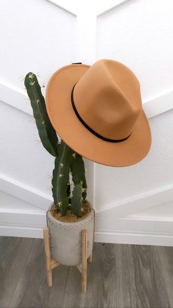 The Brooklyn flat brim hat