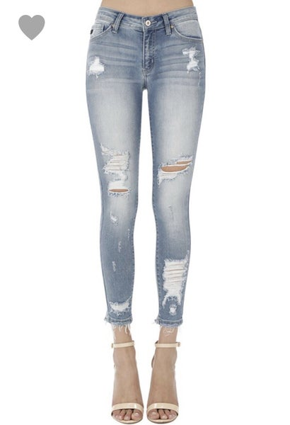 Light Wash Kan Can Jeans