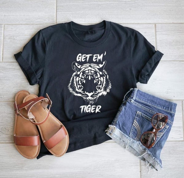 Get Em Tiger graphic tee