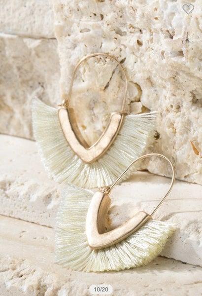 The Kemree Tassel earrings