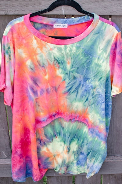 Spring Into Summer - Tie Dye Top