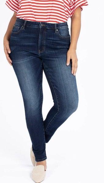 Plus size Fleece Lined kancan jeans