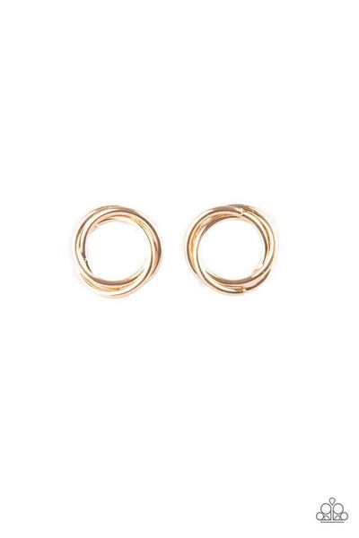 Paparazzi Earring ~ Simple Radiance - Gold