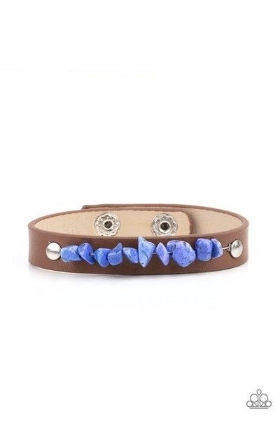 Paparazzi Bracelet PREORDER ~ Pebble Paradise - Blue