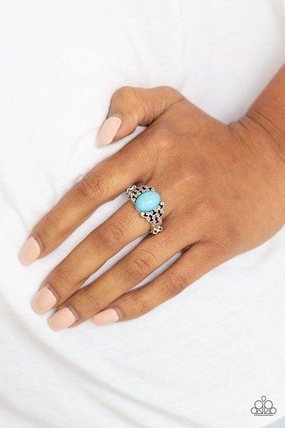 Paparazzi Ring ~ Princess Problems - Blue
