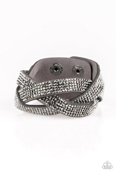 Paparazzi Bracelet PREORDER ~ Nice Girls Finish Last - Silver