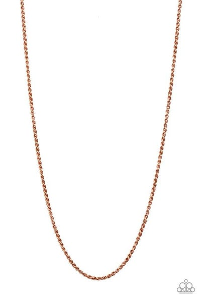 Paparazzi Necklace PREORDER ~ Jump Street - Copper