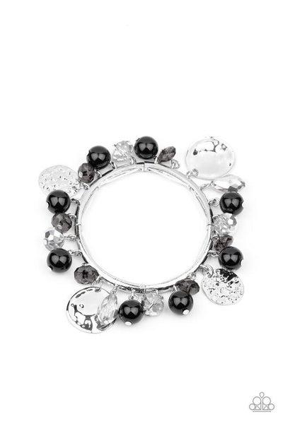 Paparazzi Bracelet ~ Charming Treasure - Black