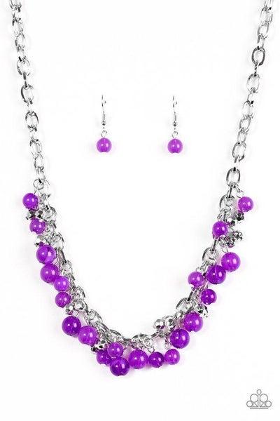 Paparazzi Necklace - Palm Beach Boutique - Purple