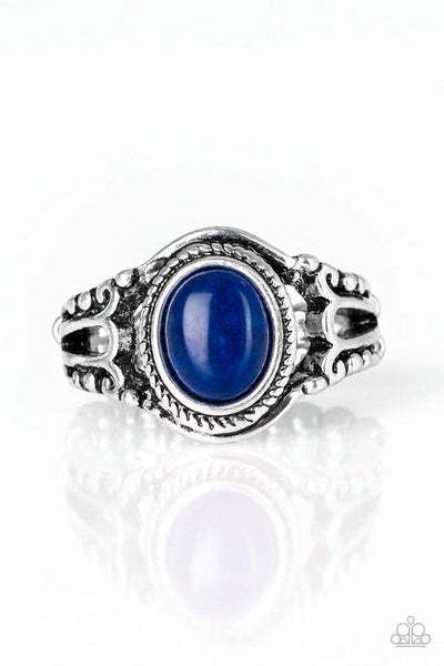 Paparazzi Ring ~ Peacefully Peaceful - Blue