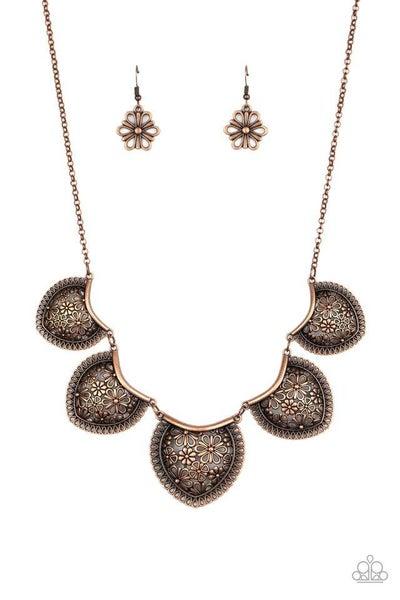 Paparazzi Necklace ~ Garden Pixie - Copper