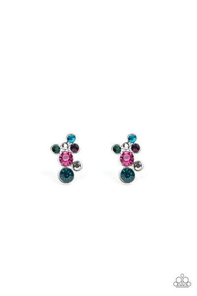 Paparazzi Earring ~ Treasure Treat - Multi