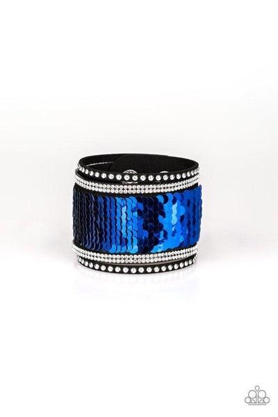 Paparazzi Bracelet ~ MERMAIDS Have More Fun - Blue