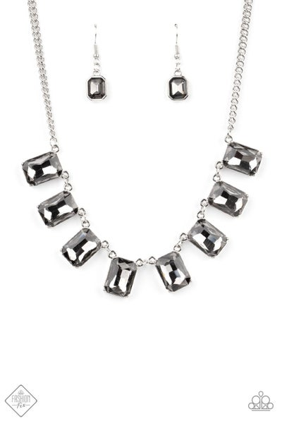 Paparazzi Necklace Fashion Fix Jan 2021 ~ After Party Access - Silver
