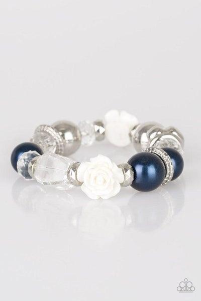Paparazzi Bracelet ~ Here I Am - Blue