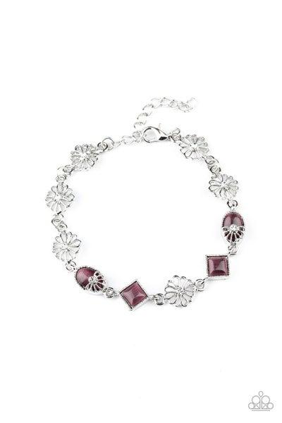 Paparazzi Bracelet ~ Eden Etiquette - Purple