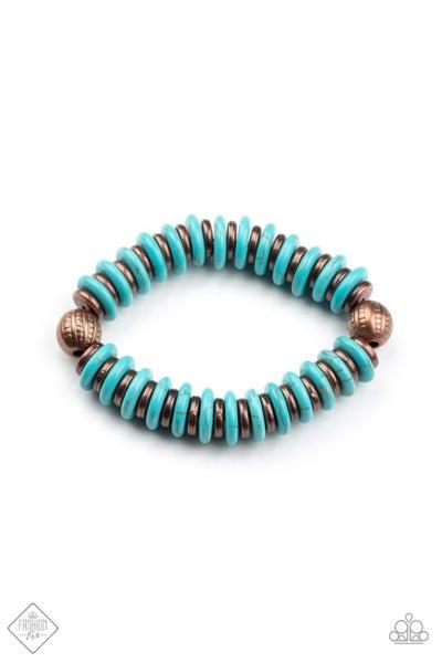 Paparazzi Bracelet ~ Eco Experience - Fashion Fix Nov 2020 - Copper