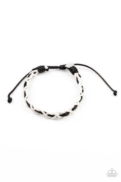 Paparazzi Bracelet PREORDER ~ Wanderlust Vibes - White