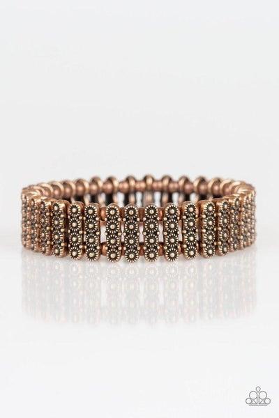 Paparazzi Bracelet ~ Rise With The Sun - Copper