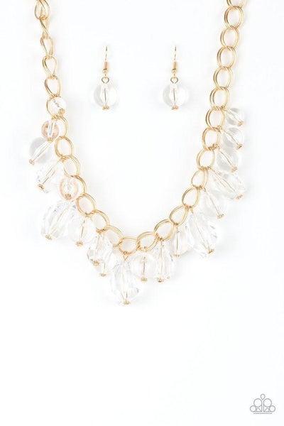 Paparazzi Necklace - Gorgeously Gobetrotter - Gold
