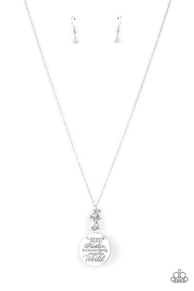 Paparazzi Necklace ~ Maternal Blessings - White