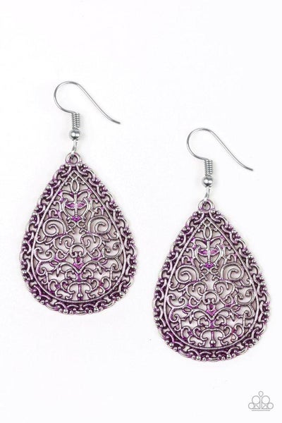 Paparazzi Earring ~ Indie Idol - Purple