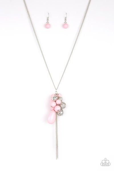 Paparazzi Necklace ~ Its A Celebration - Pink