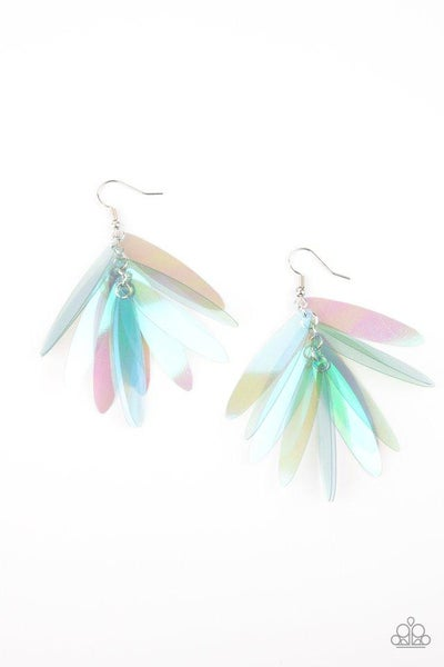 Paparazzi Earring ~ Holographic Glamour - Multi