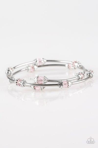 Paparazzi Bracelet ~ Into Infinity - Pink
