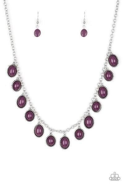 Paparazzi Necklace ~ Make Some ROAM! - Purple