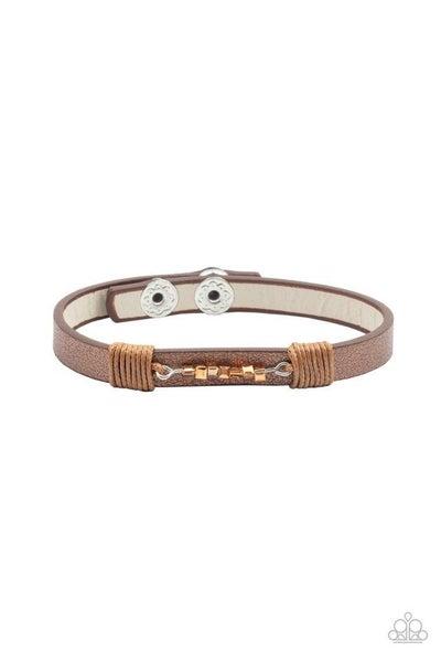 Paparazzi Bracelet ~ Worth The Hype - Copper