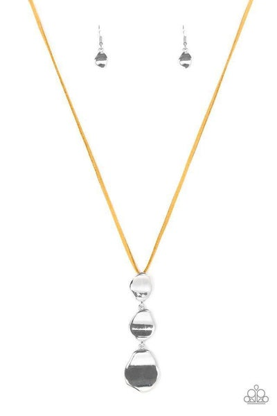 Paparazzi Necklace - Embrace The Journey - Yellow