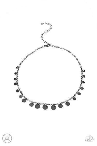 Paparazzi Necklace ~ Minimal Magic - Black